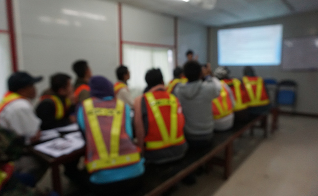 Safety Equipment Training